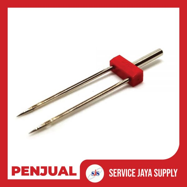ORGAN-Needle-Jarum-Kembar---Double-Needle-6.0-mm-Mesin-Jahit-Portable-2